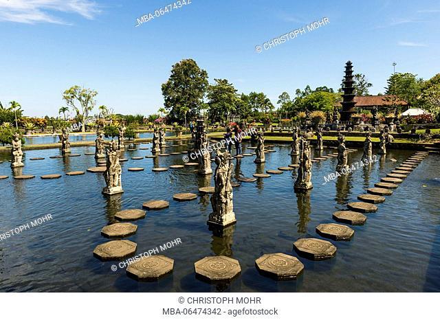 the water palace Tirtagangga