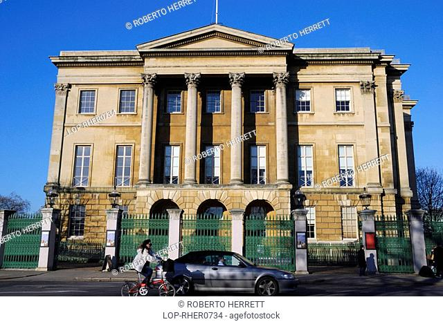 England, London, Knightsbridge, The facade of the historic Apsley House at Hyde Park Corner