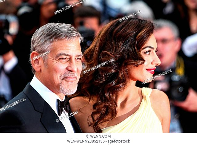 69th Cannes Film Festival - 'Money Monster' - Premiere Featuring: George Clooney, Amal Clooney, Amal Alamuddin Where: Cannes