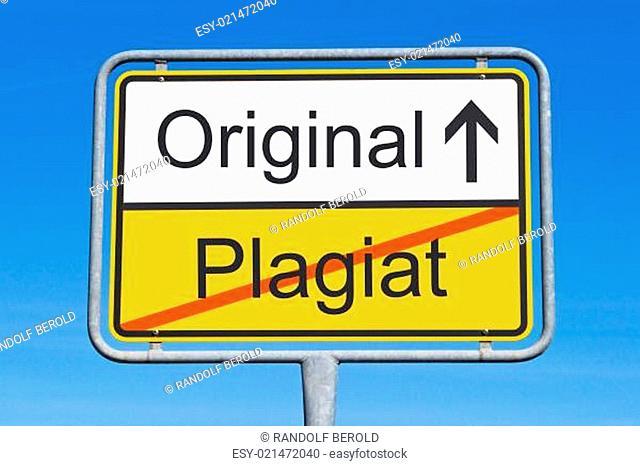 Plagiat und Original