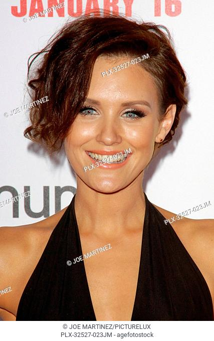 Nicky Whelan at the Premiere of Screen Gems' The Wedding Ringer held at the TCL Chinese Theater in Hollywood, CA, January 16, 2015