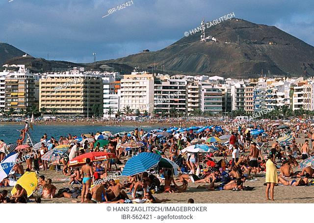 Playa de las Canteras, Las Palmas, Gran Canaria, Canary Islands, Spain