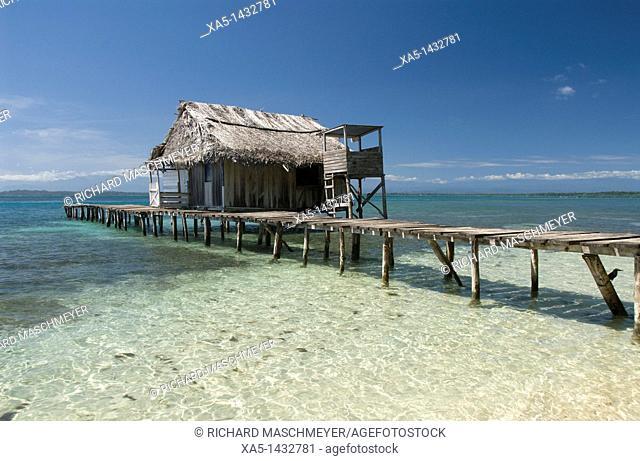 Boat dock, Isla Bastimentos, Bocas del Toro, Panama