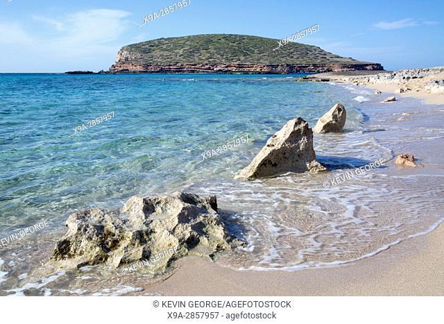 Comte Beaches and Islands, Ibiza, Spain