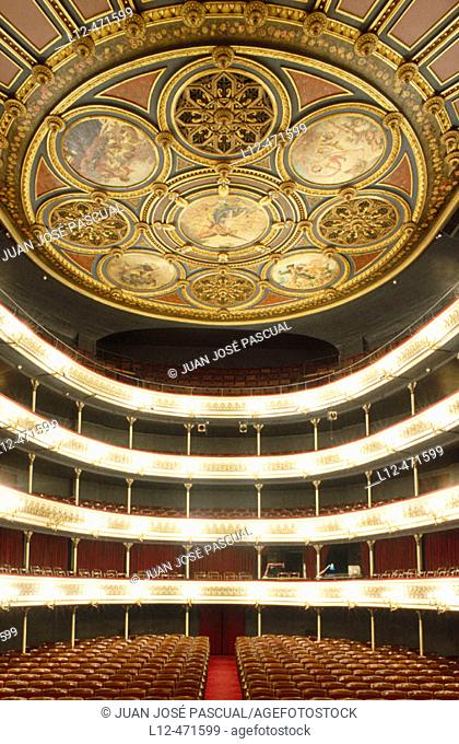 Teatro Principal, Zaragoza. Aragón, Spain