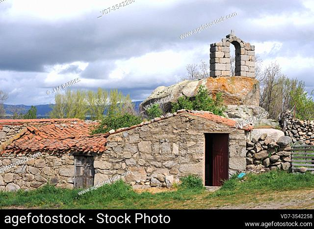 Villaviciosa de Avila (Solosancho municipality). Avila province, Castilla y Leon, Spain