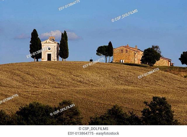 Capella di Vitaleta, Tuscany