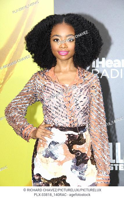 """Skai Jackson at the Warner Brothers Pictures World Premiere of """"""""Godzilla King Of The Monsters"""""""". Held at the TCL Chinese Theater in Hollywood, CA, May 18, 2019"""