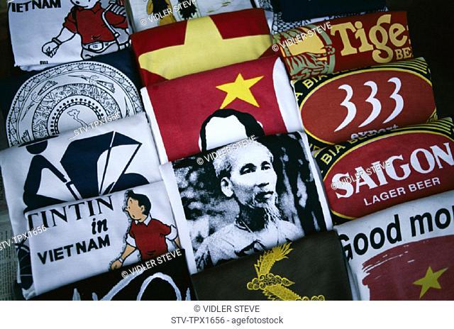 Asia, Display, Ho chi minh city, Holiday, Landmark, Saigon, Shirts, Souvenir, Tourism, Travel, Vacation, Vietnam