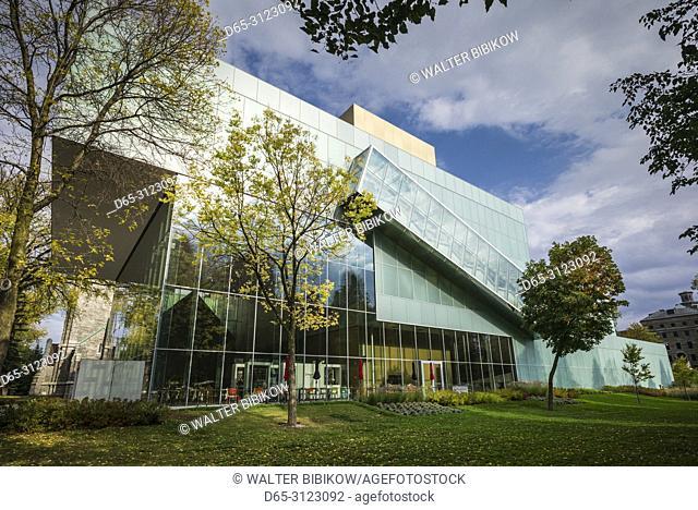 Canada, Quebec, Quebec City, Musee National des Beaux-Arts du Quebec, MNBAQ, pavillon Pierre-Lassonde, 2016, exterior
