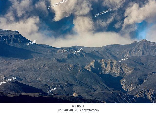 Eruption at Eyjafjallajokull 2010