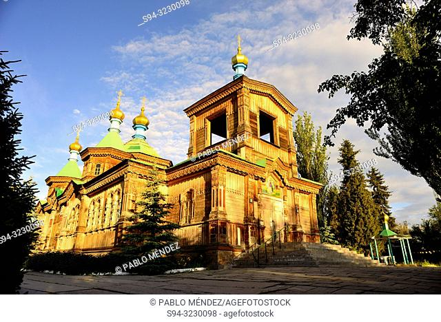 Cathedral of the Holy Trinity of Karakol, Kyrgyzstan