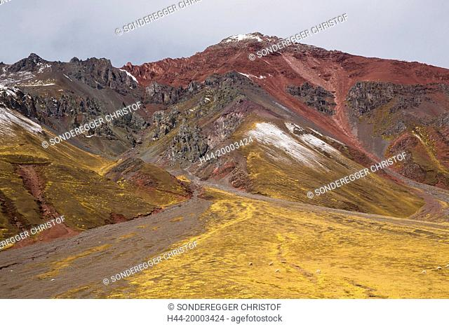 Rainbow Mountains 5000 ms near Checacupe