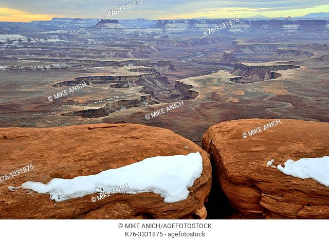 Green River Overlook, Island In The Sky, Canyonlands National Park, Moab, Utah