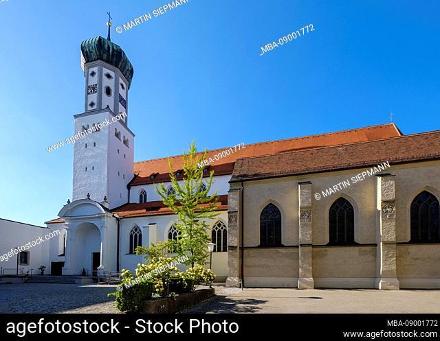 Parish Church of St. Georg, Augsburg, Swabia, Bavaria, Germany