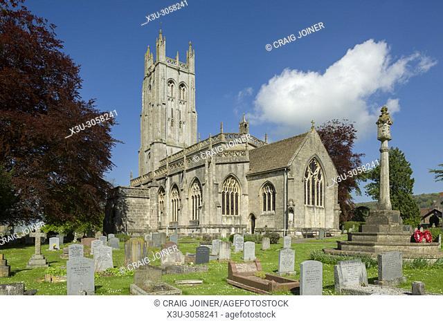 Wrington All Saints Church in North Somerset, England