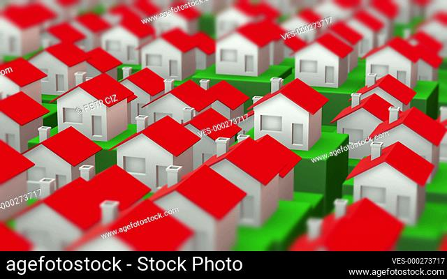 Growing housing markets like 3D video animation