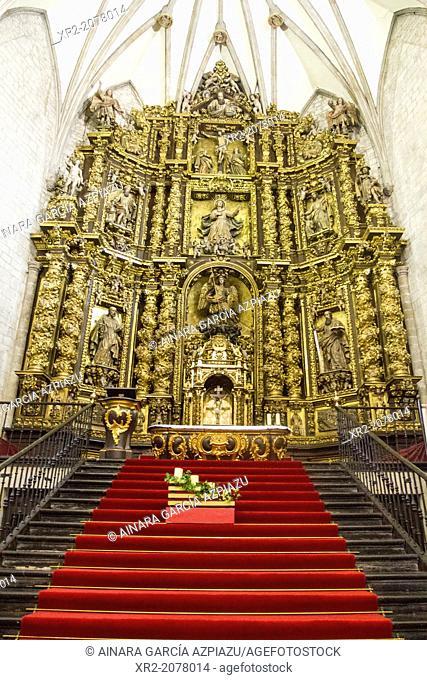 Altarpiece of San Miguel parish, Oñati, Basque Country