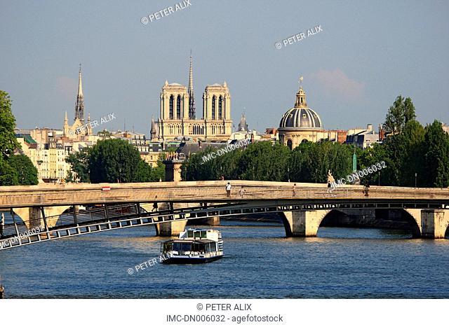 France, Paris, Notre Dame cathedral