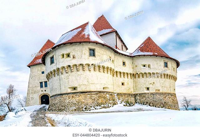 The old castle Veliki Tabor in Croatia, a Croatia's northwestern fortification system