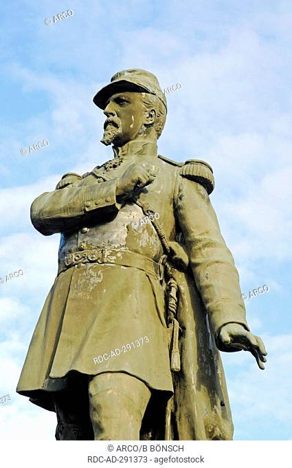 Colonel Denfert Rochereau memorial, Belfort, Territoire de Belfort, Franche-Comte, France