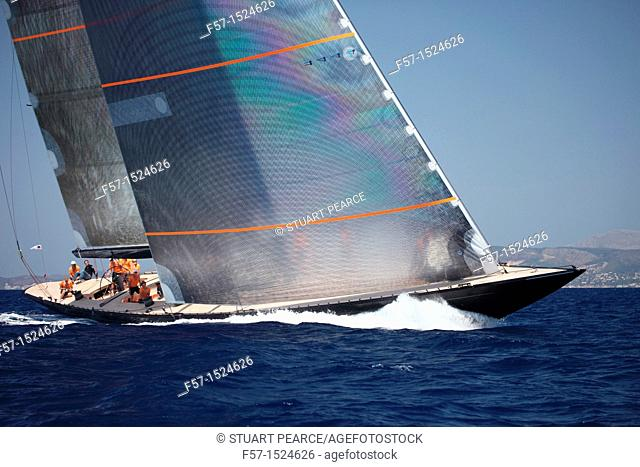 Firefly in the Superyacht Cup In Palma de Mallorca, Spain