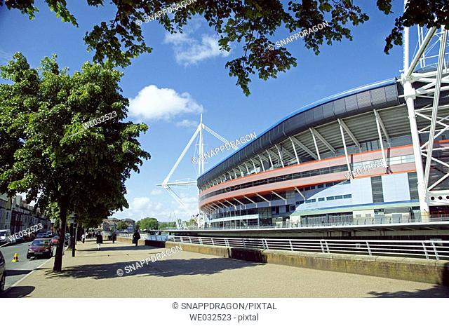 Millennium Stadium, Cardiff, Wales, Great Britain