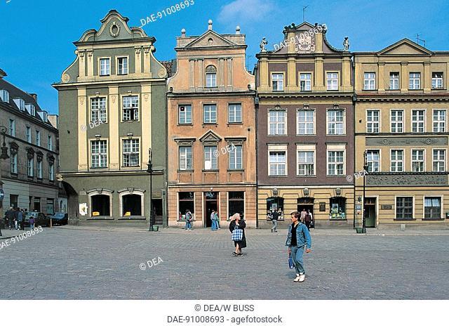 Poland - Wielkopolskie voivodship - Poznan. Old Town Square