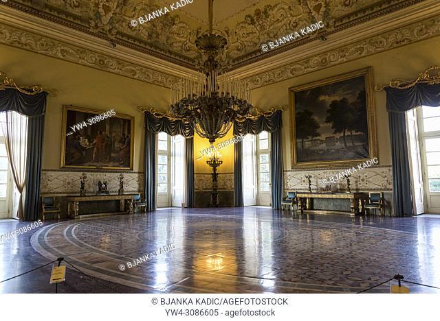 Capodimonte National Art Museum, Royal apartment, Naples, Italy