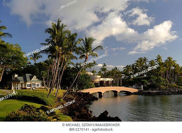 Wedding Pavilion, Hilton Waikoloa Village, hotel resort, Big Island of Hawaii, USA