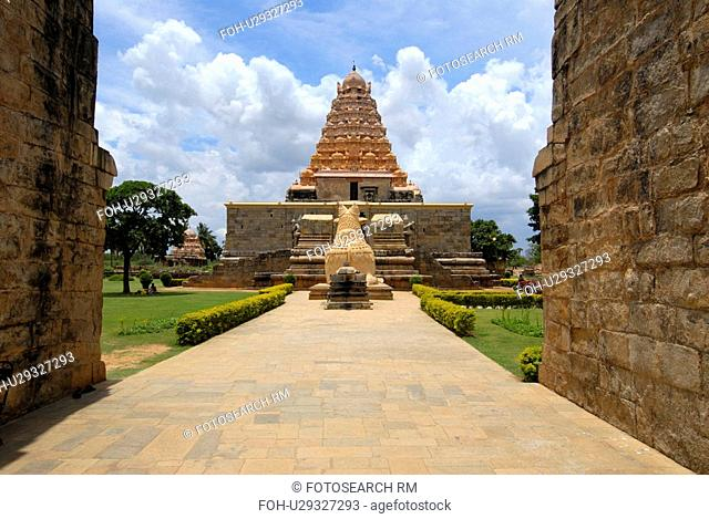 temple in tamilnadu india siva chola great