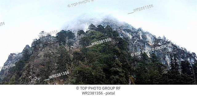 Sichuan Province Ganzi the Gongga mountain