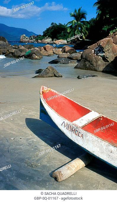 Canoe Beach, Ilha Grande, RJ