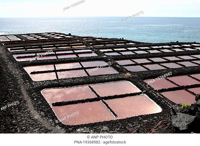 Salinas de Fuencaliente, Fuencaliente, La Palma, Canary Islands, Spain, Europe