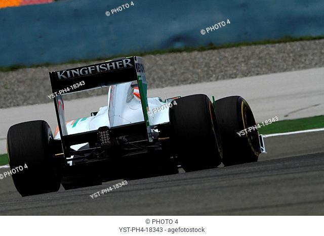 Paul di Resta GBR, Turkish Grand Prix, Istanbul, Turkey