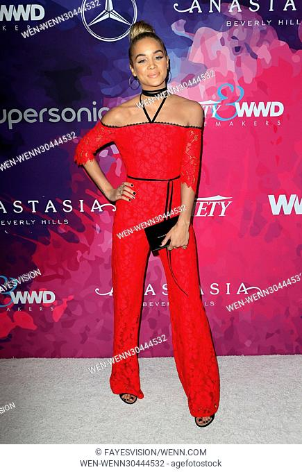 Variety And WWD Host 2nd Annual StyleMakers Awards Featuring: Jasmine Sanders Where: West Hollywood, California, United States When: 17 Nov 2016 Credit:...