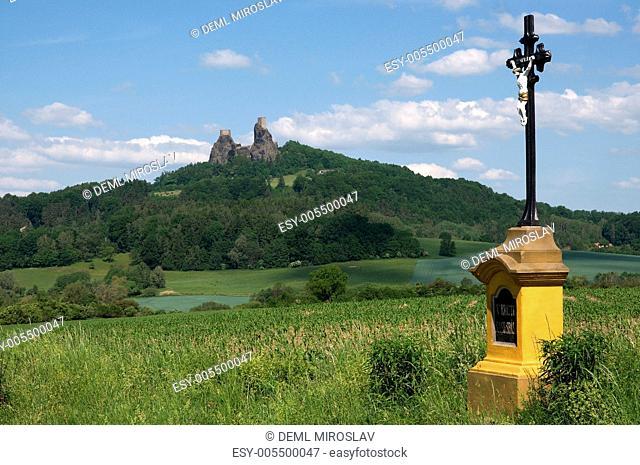 Czech republic, Trosky,castle