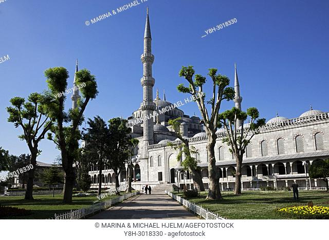 Blue Mosque; Istanbul; Turkey