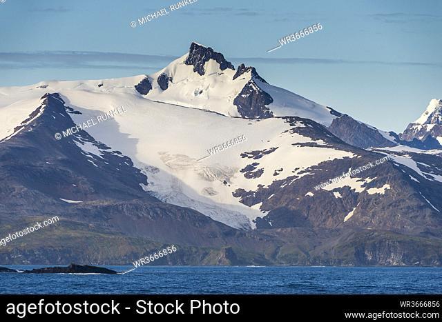 UK, South Georgia and South Sandwich Islands, Glacial scenery of Salisbury Plain