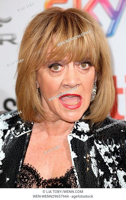 The Attitude Awards 2016 - Arrivals Featuring: Amanda Barrie Where: London, United Kingdom When: 10 Oct 2016 Credit: Lia Toby/WENN.com
