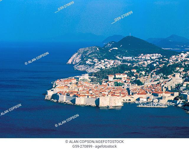 Stari Gard (The walled city). Dubrovnik. Croatia