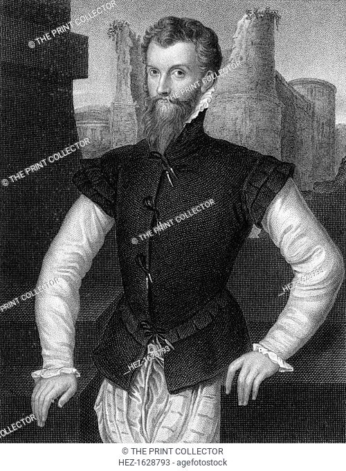 Edward Courtenay, 1st Earl of Devon (c1527-1556), 1824. Courtenay was the only son of Henry Courtenay, 1st Marquess of Exeter