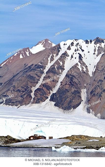 Views of Stonington Island, Antarctic Peninsula, Antarctica, Southern Ocean  MORE INFO Stonington Island was chosen as the site for the East Base of the United...