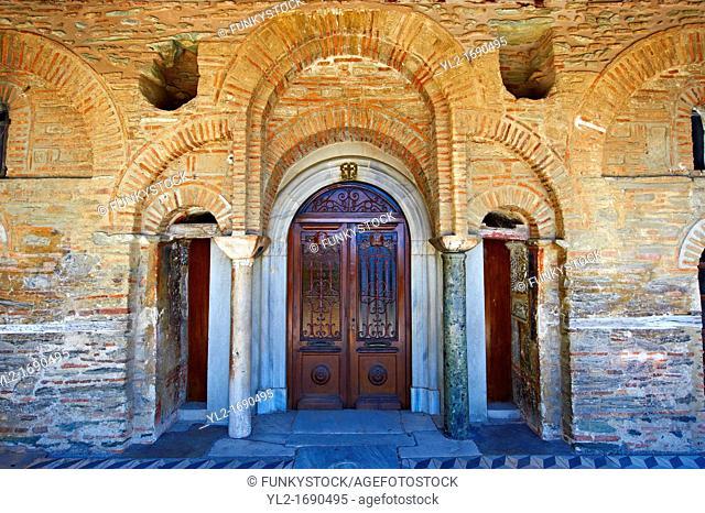 14th century Byzantine Monastery of Vlatades  Vlatadon  a Palaeochristian and Byzantine Monuments of Thessaloniki, Greece  A UNESCO World Heritage Site