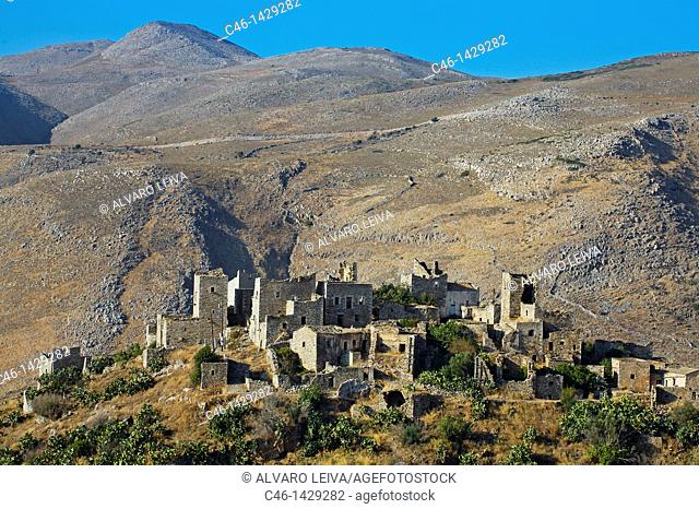 Vathia village on Mani Peninsula  Laconia, Peloponnese  Greece