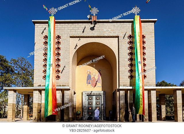 St Stephen's Church, near Meskal Square, Addis Ababa, Ethiopia