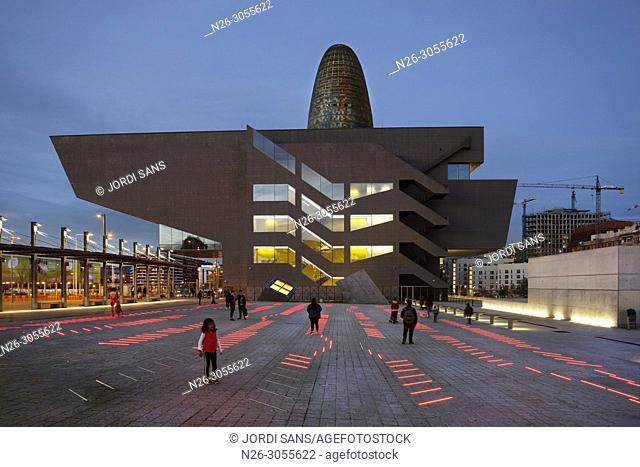 Building Design HUB Barcelona, Museu del Disseny, by MBM arquitectos, Barcelona, Catalonia, Spain