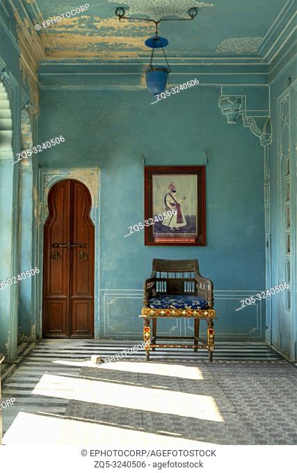 Zenana Mahal or queen's chambers , City Palace, Udaipur, Rajasthan, India
