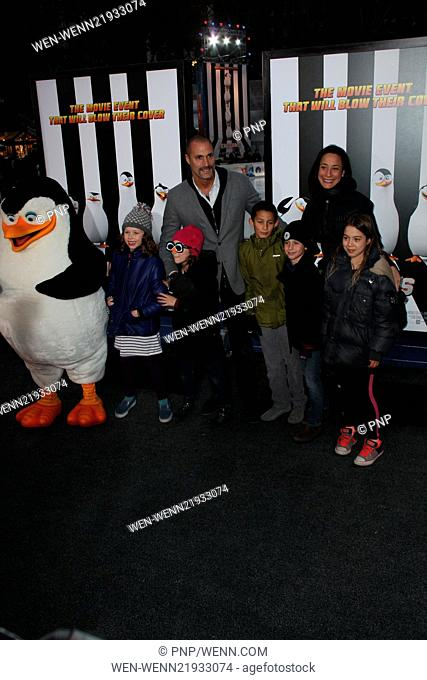 New York premiere of 'Penguins of Madagascar' at Winter Village at Bryant Park Ice Rink - Arrivals Featuring: Crissy Barker