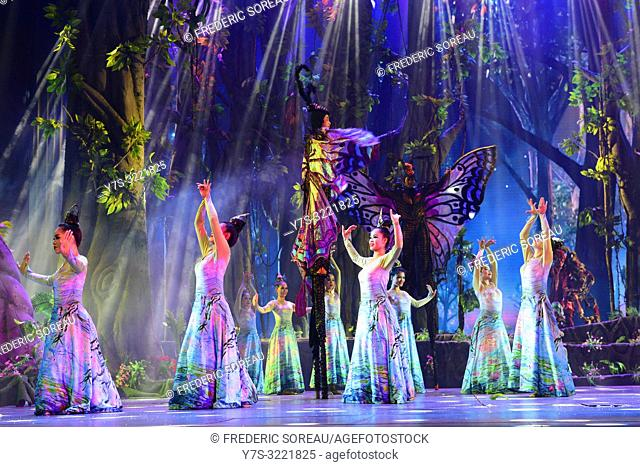 Angkor dynasty show,Siem Reap,Cambodia,South east Asia